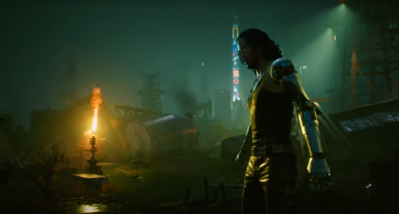 Keanu Reeves Is As Johnny Silverhand In Cyberpunk 2077 Trailer