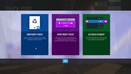 Overwatch New Developer Update - Game Designer Scott Mercer Goes Into Detail About The Upcoming Priority Pass System