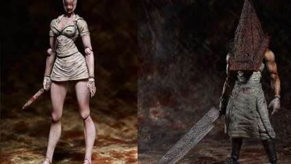Silent Hill 2's Pyramid Head And Nurse Prepare For A Figma Release