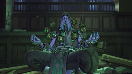 Lastest Overwatch Short Story, Stone By Stone, Features Symmetra And Zenyatta