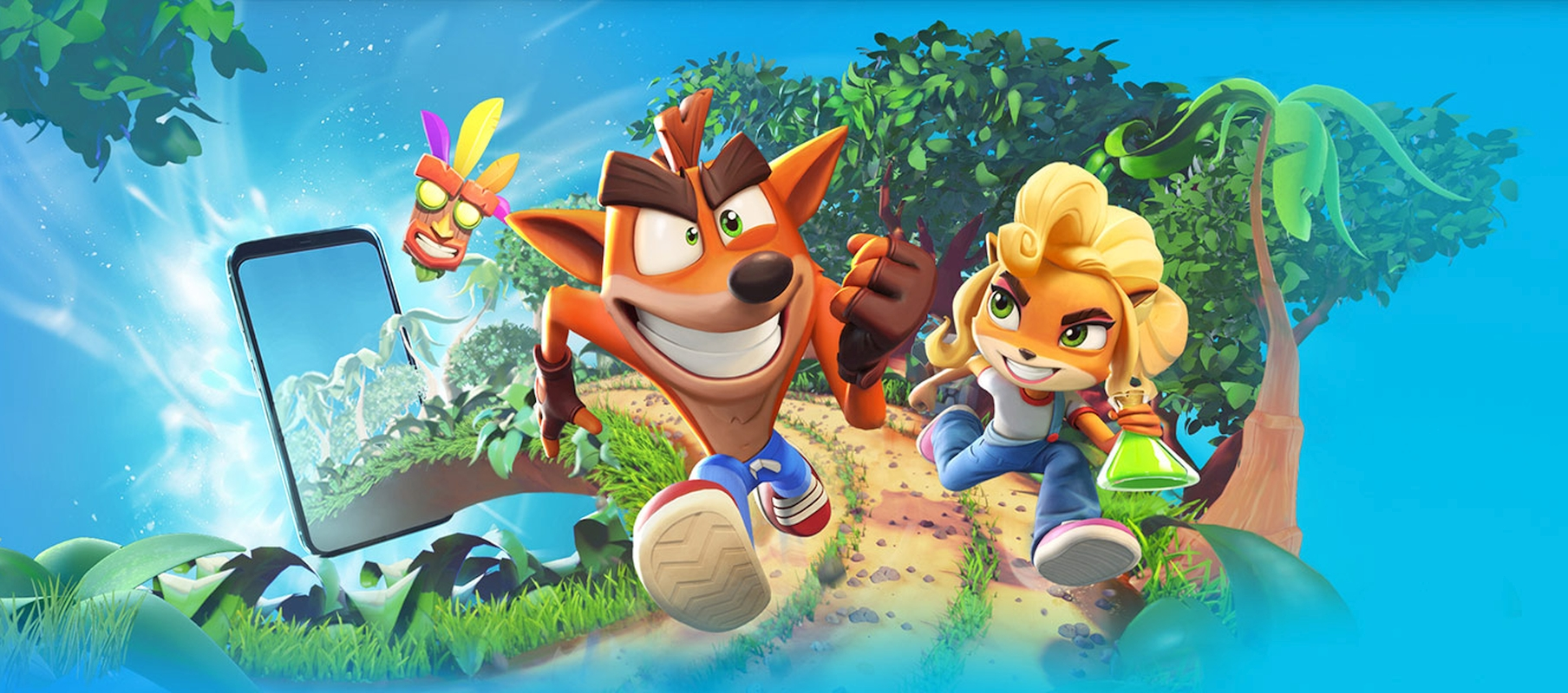 Crash Bandicoot: On the Run Pre-Registration Now Available On App Store