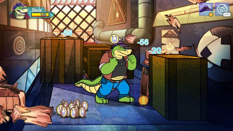 BROK the InvestiGator Is A New Adventure RPG Full Of Cartoonish Adventure