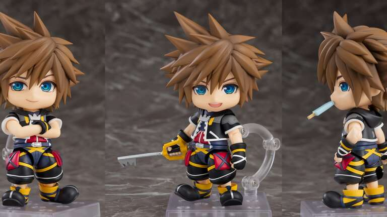 Kingdom Hearts 2 Sora Nendoroid Announced From Good Smile Company