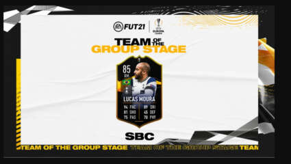 Should You Do The Europa Team Of The Group Stages Lucas Moura SBC In FIFA 21? Not A Live Card!