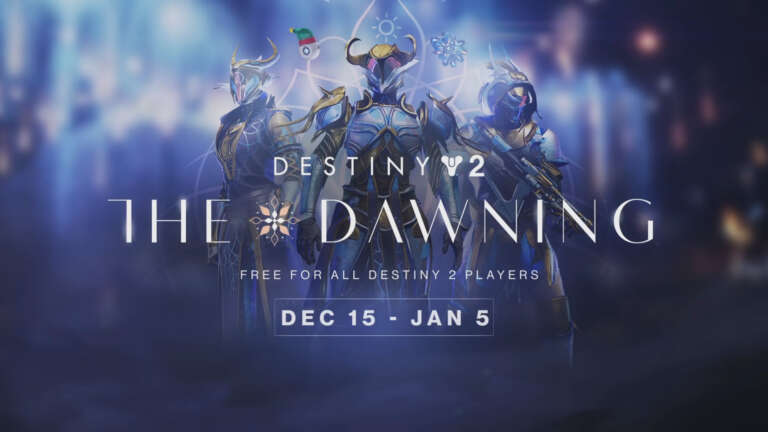 Destiny 2: The Dawning Winter Holiday Trailer Released - Event Begins December 15th, 2020