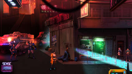 Sense: A Cyberpunk Ghost Story Is Releasing On Nintendo Switch As Of January 7th