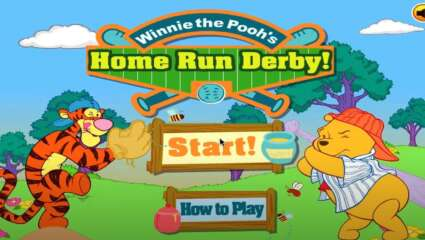 Winnie the Pooh's Home Run Derby Service Ends As Other Flash Games Prepare To Shut Down