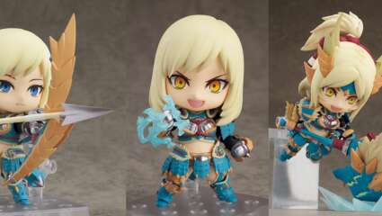 Monster Hunter World: Iceborne DX Nendoroid Female Hunter In Zinogre Armor Announced