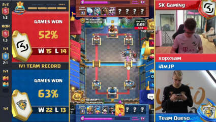 Team Queso Triumphant Over SK Gaming In The Clash Royale League World Finals 2020