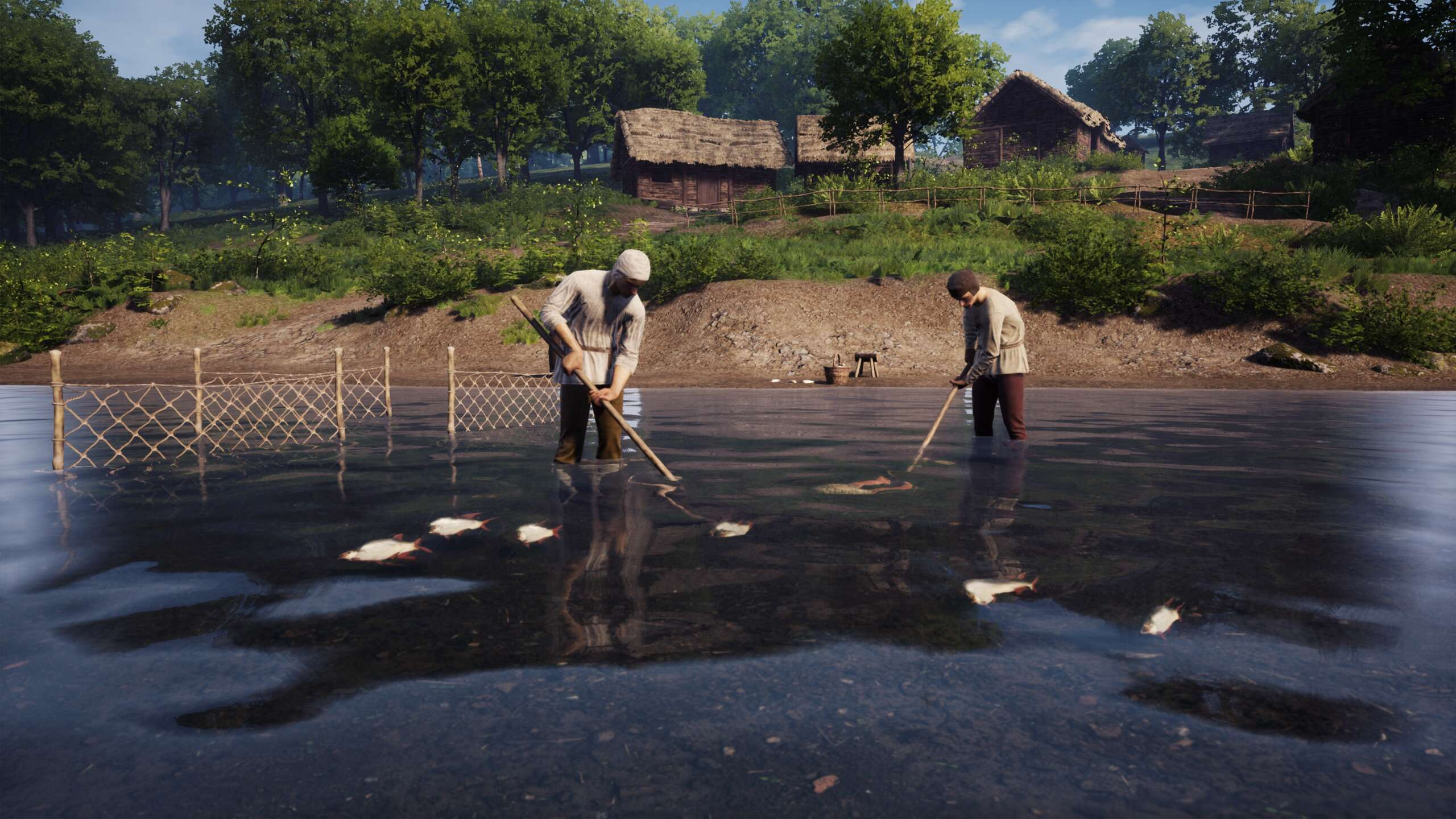 Medieval Dynasty Releases Major Content Update With Fishing, Roads, And More