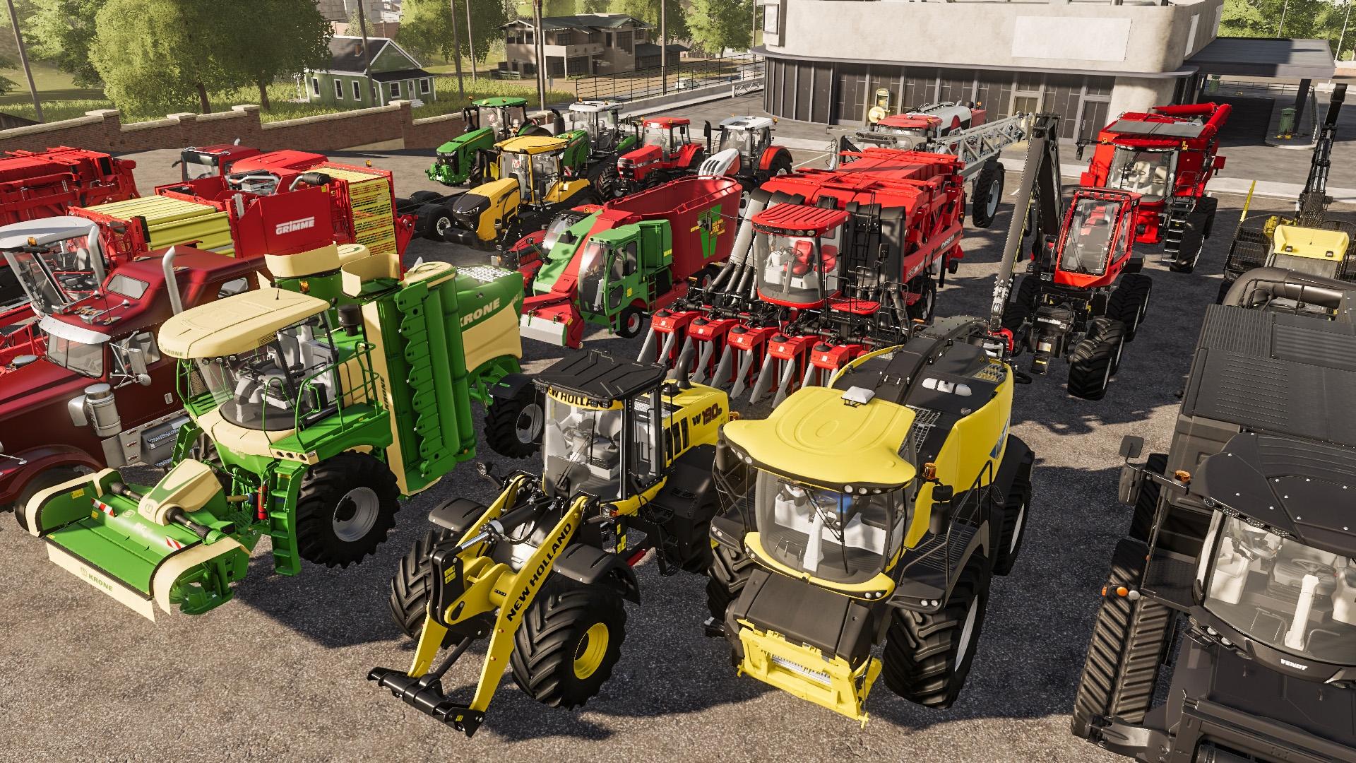"""Farming Simulator Announces Free """"Precision Farming"""" DLC For December 8"""