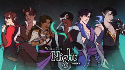 When The Night Comes - The ReVamp Visual Novel Plans For February Launch With Steam Page Available Now