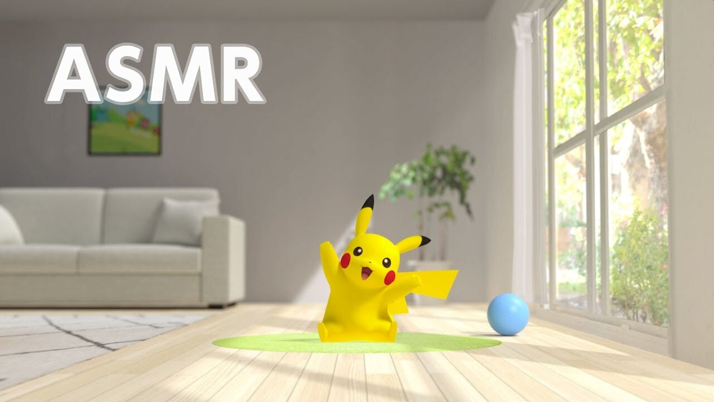 Nintendo Releases New Relaxing Pokémon ASMR Video Starting Pikachu