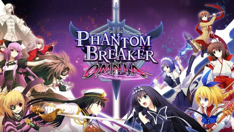 2D Anime Fighting Game Phantom Breaker: Omnia Launches On PC and Consoles Next Year