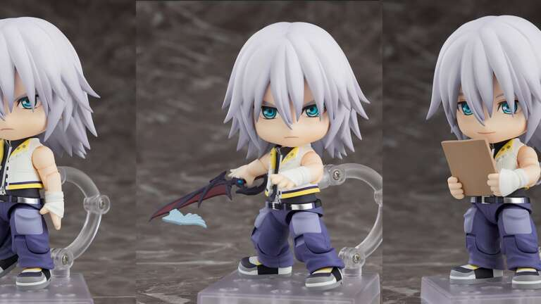 Kingdom Hearts 2 Nendoroid Riku Figure Announced