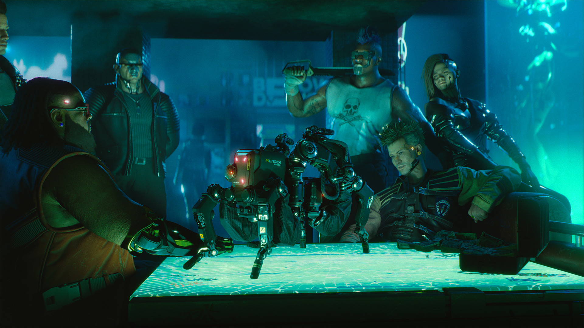 CD Projekt Red Threatens To Send Fictional Cyberpunk 2077 Police After Anyone Who Streams The Game Early