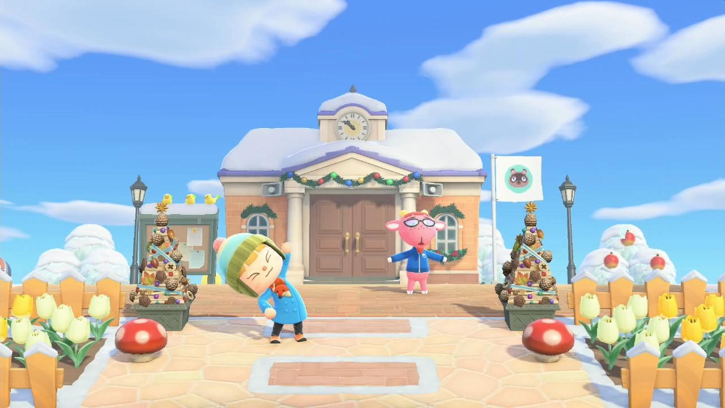 "Animal Crossing: New Horizons ""Ninten Island"" Updates With Winter Scenery"