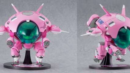Overwatch Fans Can Now Add A Nendoroid Jumbo Figure Of D․Va's MEKA To Their Collection