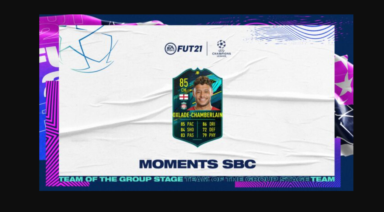 Should You Do The Alex-Oxlade Chamberlain Player Moments SBC In FIFA 21? That's A Lot Of Coins…