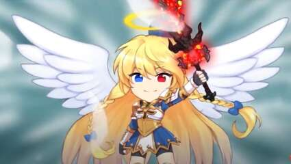 Help A Novice Angel Become Stronger In The Mobile Game Raising Archangel