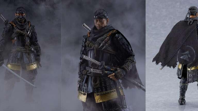 Ghost Of Tsushima's Jin Sakai Announced In Figma Figure Form