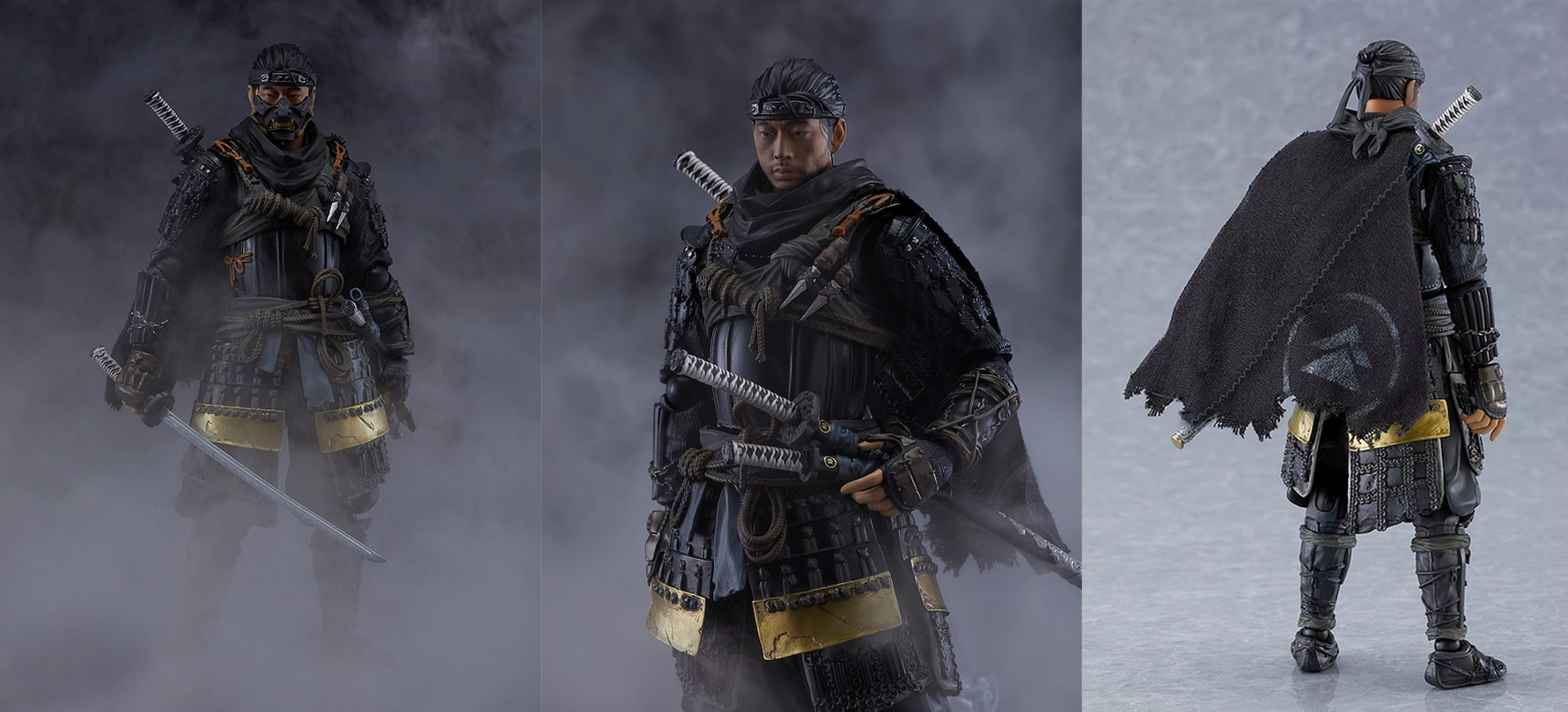 Ghost Of Tsushima's Jin Sakai Announced In Figma Figure Form