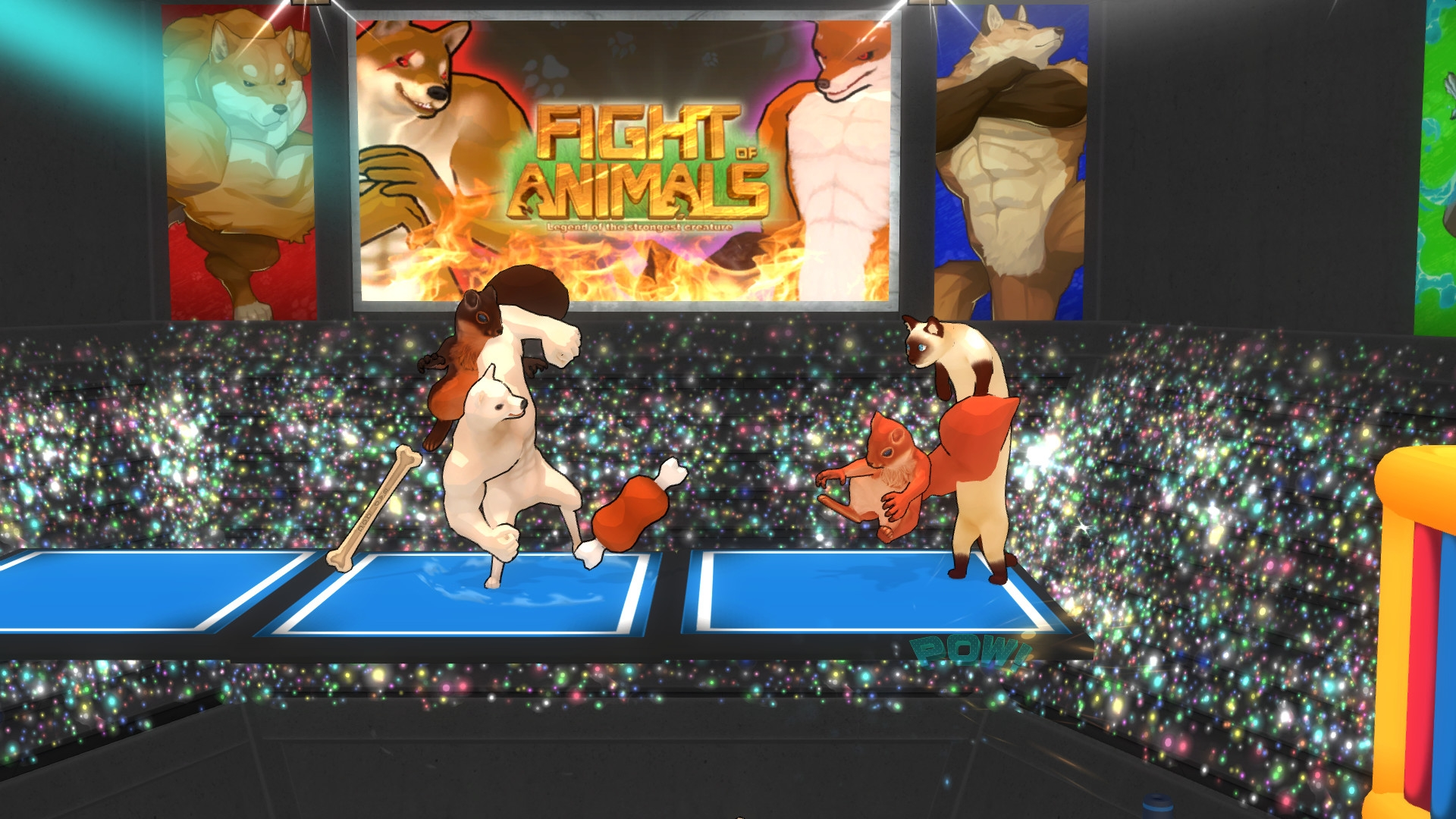 Fight Of Animals: Arena Brings The Meme Fighters Into A Larger Arena