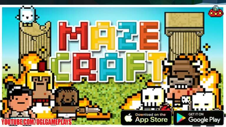 Mazecraft Has Re-launched Onto iOS and Android Devices With New Graphics And Much More