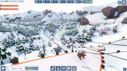 Snowtopia: Ski Resort Tycoon Is Now Available On Steam Early Access