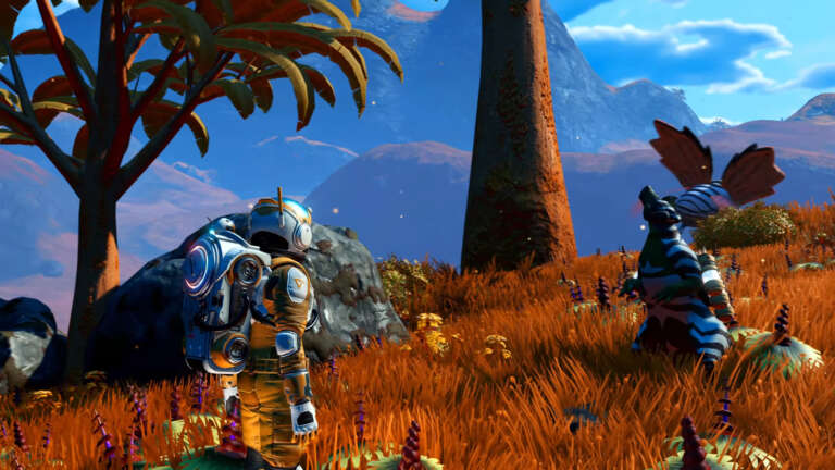 No Man's Sky Pet Update Allows The Player To Tame Alien Creatures That Speak To You