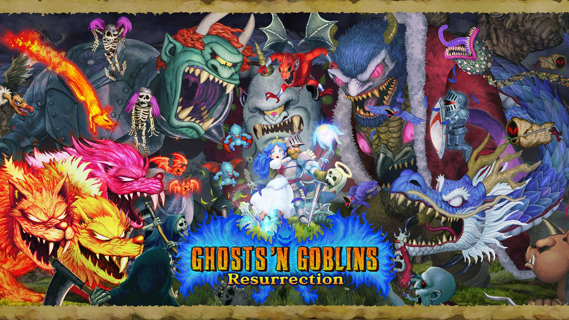 Capcom Announces Ghosts 'n Goblins Resurrection Launches February 25 For Nintendo Switch