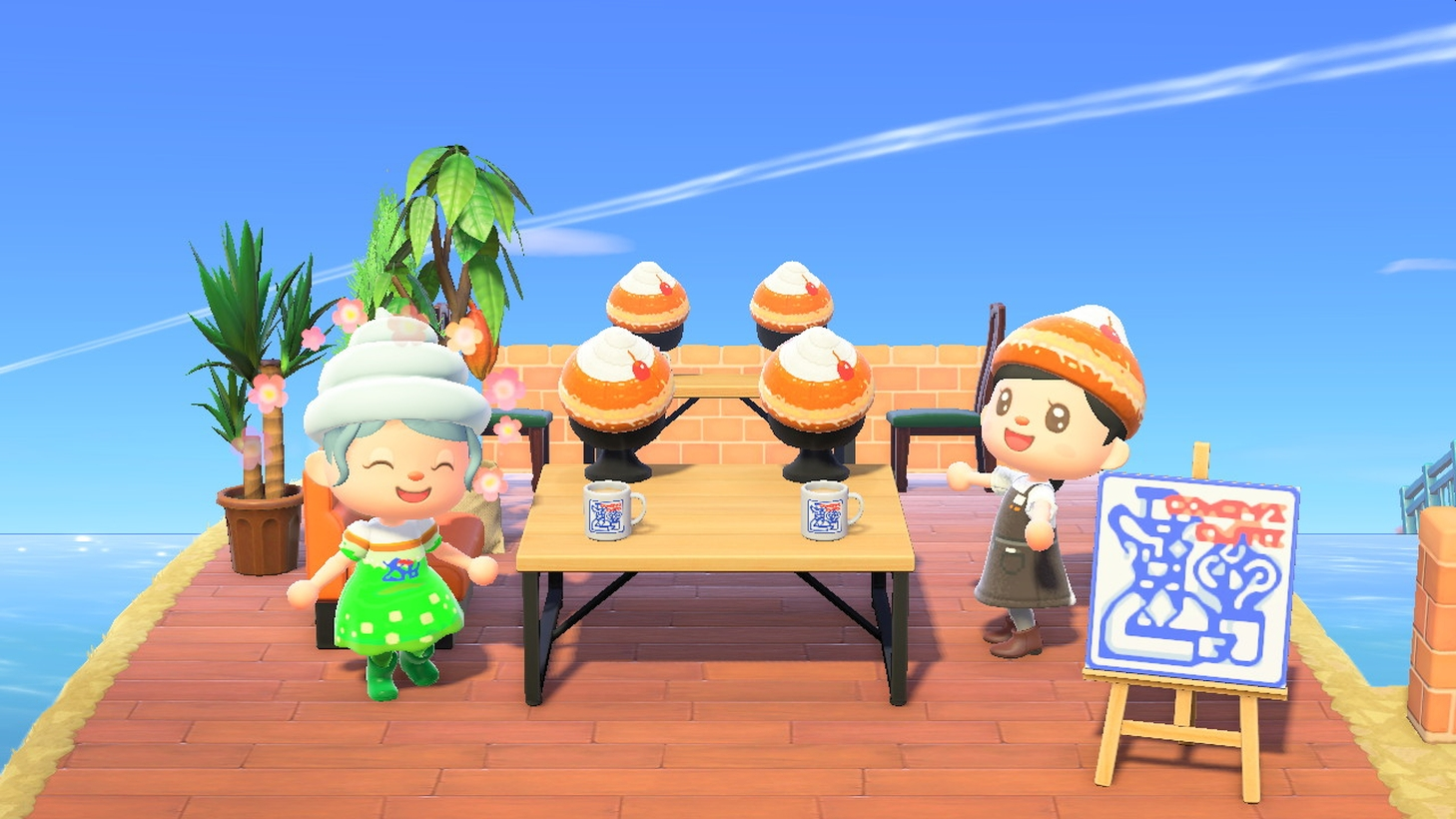 Komeda's Cafe Offers Custom Cafe Designs For Animal Crossing: New Horizons