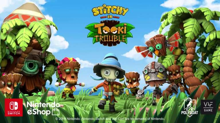 Stitchy in Tooki Trouble Is A New Platform Title For Nintendo Switch