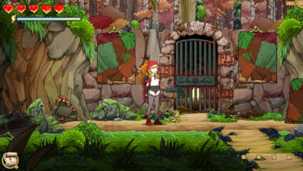 Scarlet Hood and the Wicked Wood Is Planning A Full Release On Steam In April