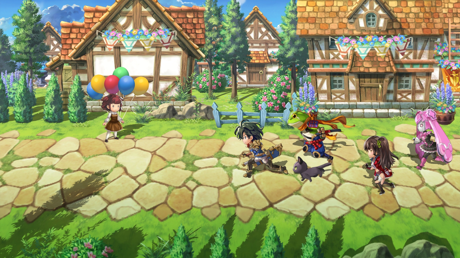 Another Eden: The Cat Beyond Time And Space JRPG Launches On Steam This Spring
