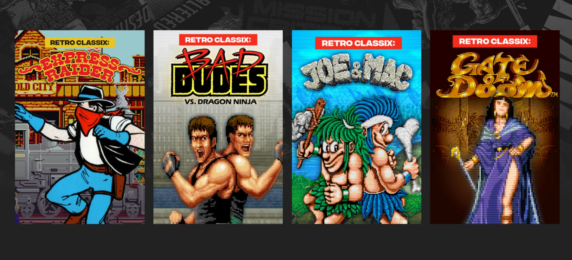 Ziggurat Interactive To Publish Eight Data East Arcade Classics To PC For First Time