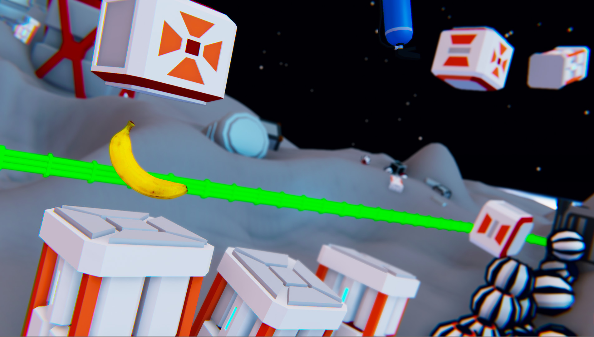 International Space Banana Is Floating Its Way Onto Steam