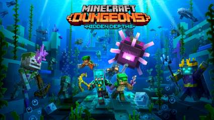 New Minecraft Dungeons Hidden Depths DLC Announced - Cute Slimes And Fresh Challenges!