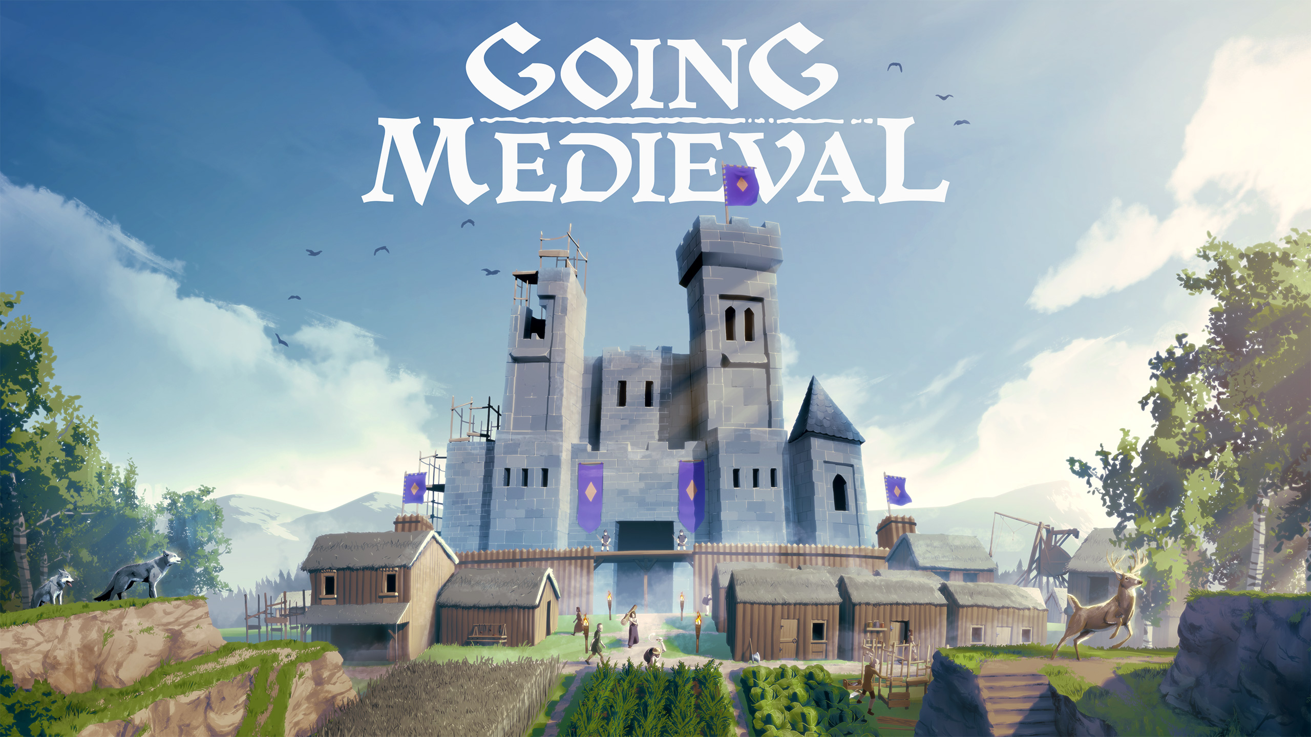 Going Medieval Review – The Barebones Of A Quality Colony Simulator
