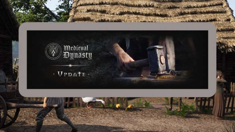 Medieval Dynasty June Update Adds Ways To Flirt With NPCs And Other New Content
