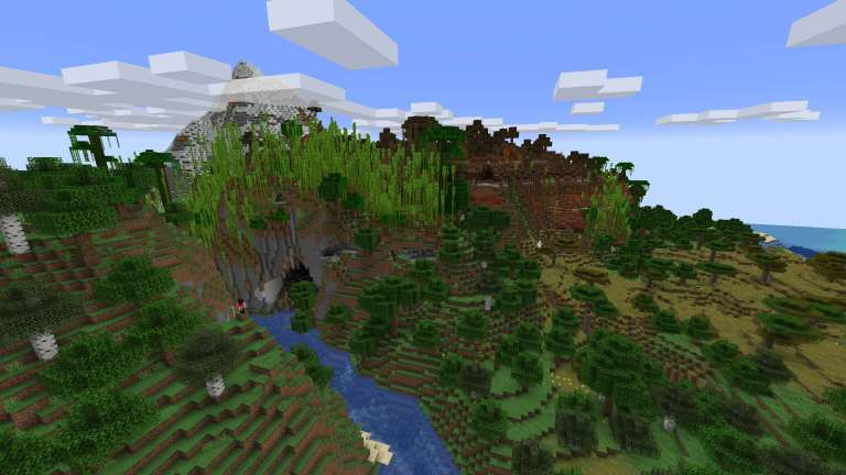 Minecraft Snapshot 1.18 Shows Off Stunning New Terrain Generation Expected With Caves & Cliffs Part 2
